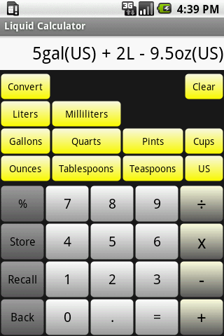 Liquid Calculator